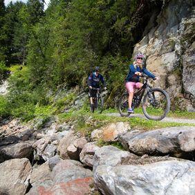 Biketour im Zillertal