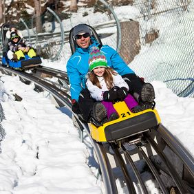 Arena Coaster im Winter