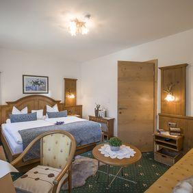 Schlafzimmer im Appartement Landleben