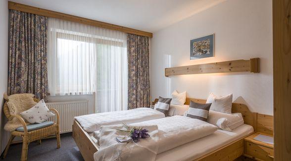 Doppelzimmer im Appartement Seeblick