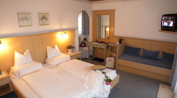 Doppelzimmer mit Ostbalkon