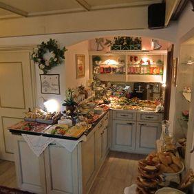 Frühstücksbuffet im Landhaus